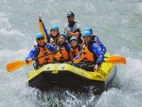 Group rafting!