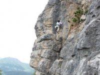 Scalando la rocca