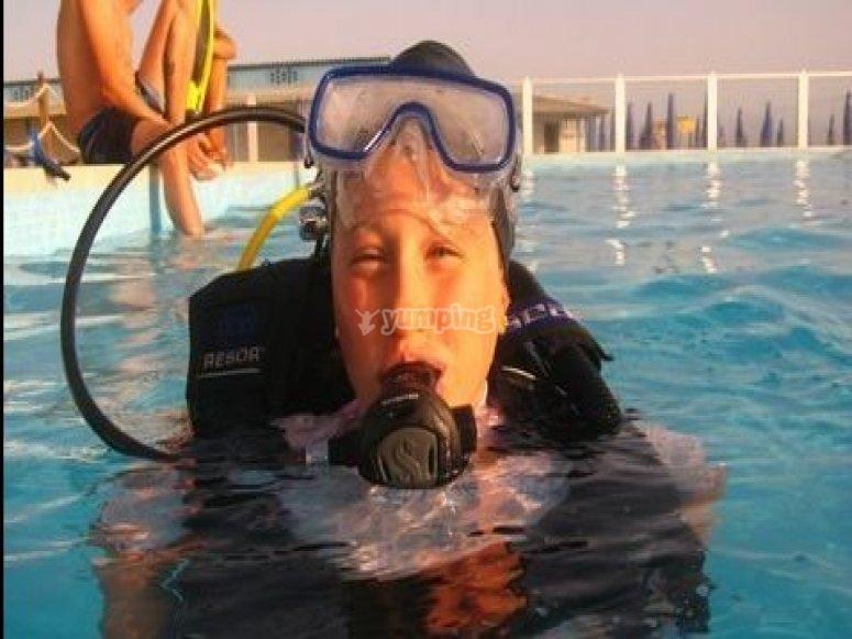Respirare sott acqua
