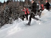 Snowshoeing in Italy