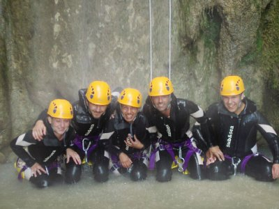 Professionals Guides Team Canyoning