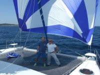By boat with Filavia Sail
