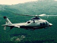Uno dei bellissimi elicotteri