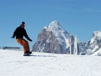 Discese in Snowboard