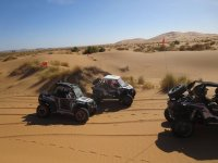 Rally sulla sabbia