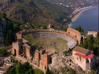 Taormina seen from above