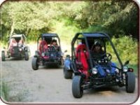 In buggy in Sardegna