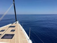 Una vista dalla barca