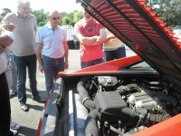 Il motore della Ferrari