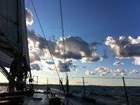 Un cielo bellissimo, almeno quanto il mare!