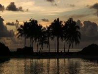 Bel tramonto caraibico