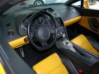 Interno di una Lamborghini