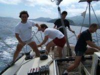 Imparare le tecniche di vela