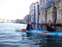 Kayak doppio a Venezia