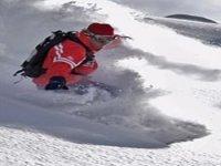 Fresh snow slopes