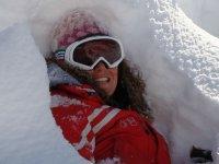 Abbracciata dalla neve