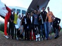 Lo staff di Skydive Sicilia