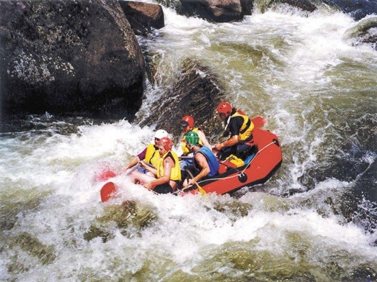 Discese di rafting