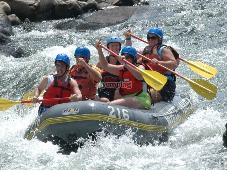 Avventure di rafting