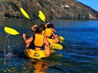 Gite di gruppo in Kayak