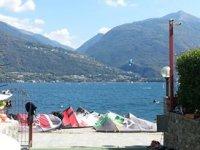 Wakeboarding and Kitesurfing on Lake Como