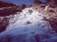 Climbing on ice