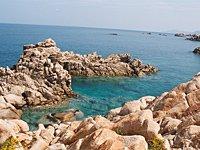 La costa della Sardegna