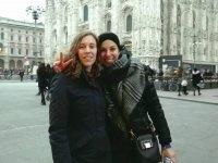 Vincitrici in piazza Duomo