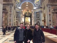 Visita a San Pietro