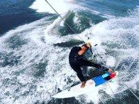La magia del kitesurf