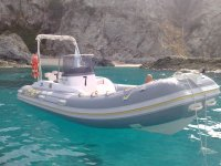 One of our inflatable boats