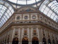 Passeggiando nella Galleria Vittorio Emanuele