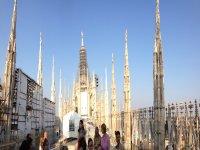 Sul tetto del Duomo