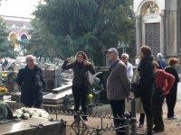 Visita al cimitero munimentale