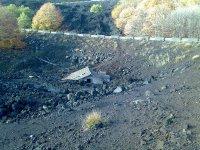I resti delle eruzioni