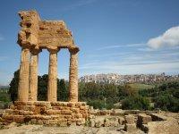 Resti archeologici ad Agrigento