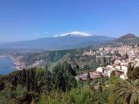 Vista sull'Etna