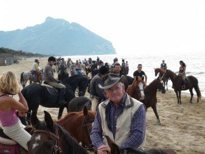 Tour a cavallo 5 giorni Latina/Circeo in tenda