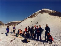 Cross-country skiing excursion