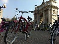 noleggio bici nel centro di milano