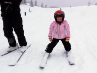 Primi passi sugli sci