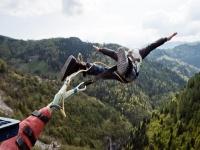Bungee jumping con foto o video in Valgadena 175mt