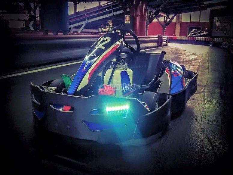 Go Kart in pista
