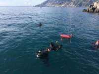 Immersione guidata a Salerno
