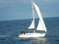 In mare a vela