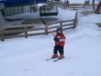 Bimbo sullo skilift