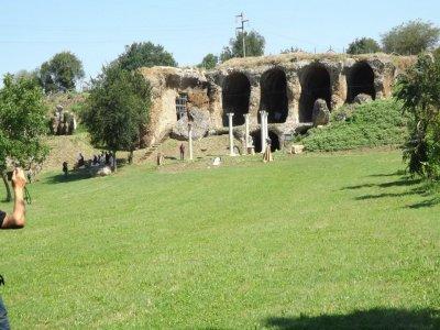 Passeggiata a cavallo+visita archeologica Otricoli