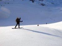 Snowboard alpinismo
