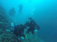 Gruppo di subacquei