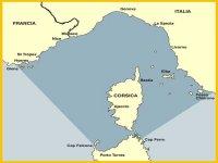 Santuario dei cetacei mappa